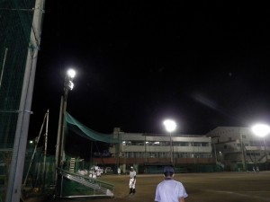 西武台高校 取替前点灯状況