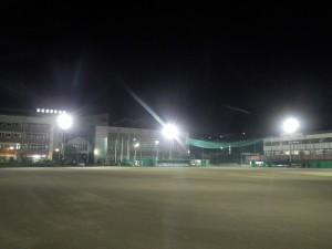 西武台高校 第1グランド LED点灯状況