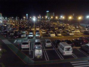 大型ショッピングモール駐車場導入事例