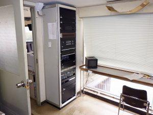 ボートレース場主審室レース実況音響装置改修工事