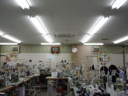 島原ソーイング(株) 省エネ工事