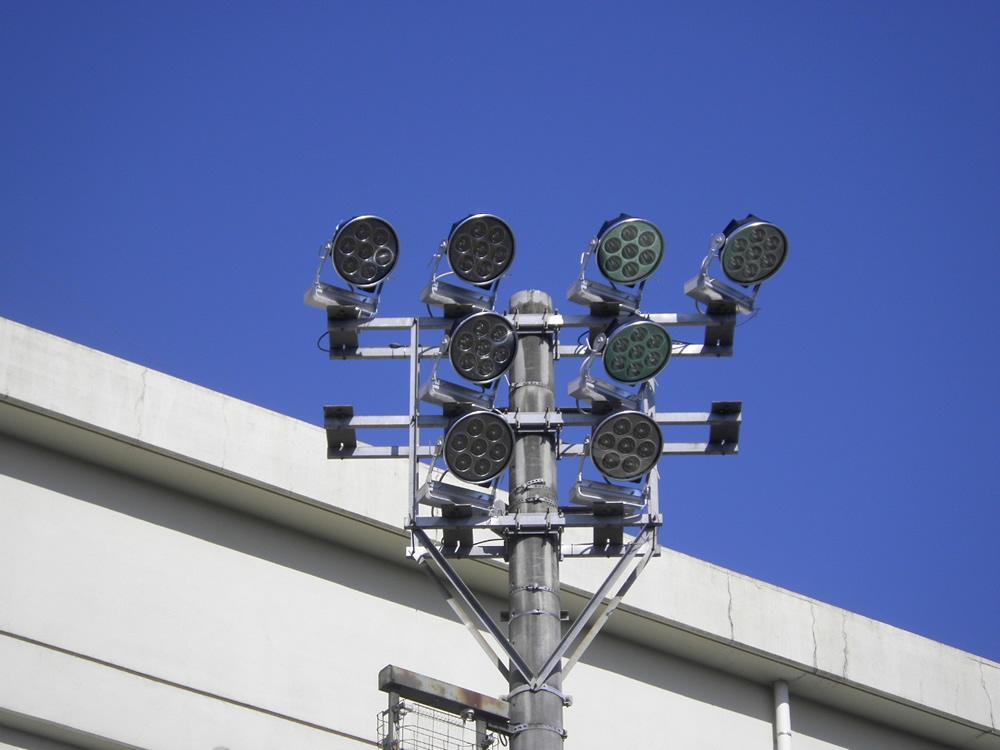 西武台高校 取替後LED照明器具