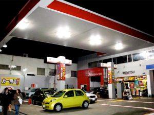 ガソリンスタンド導入事例